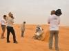 Lutte dans les dunes, avec l\'aide de René!